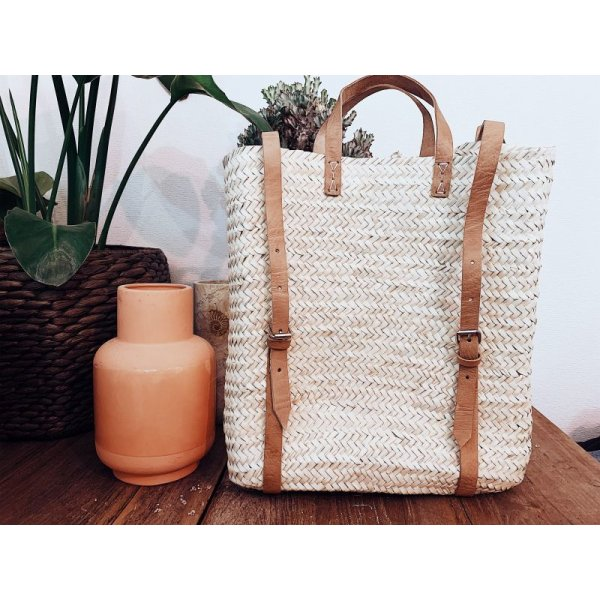 画像1: Straw Backpack (select)
